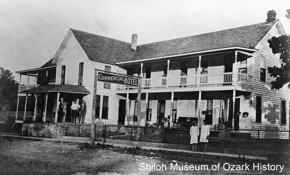 Commercial Hotel, Jasper, Newton County, Arkansas,1910s-1920s.