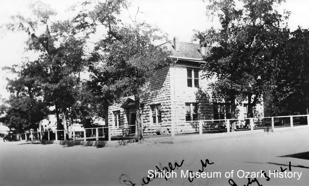 Newton County courthouse, Jasper, Arkansas, 1927.