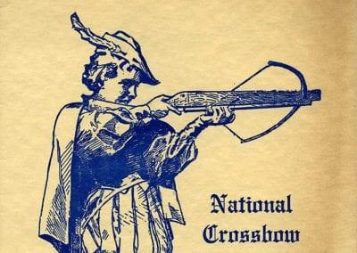 1963 Crossbow Tournament program, Huntsville, Arkansas