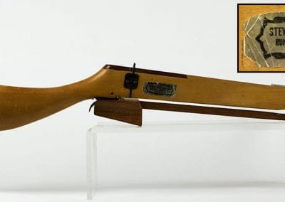 Commercial crossbow made by the Stevens Crossbow Manufacturing Company, early 1960s