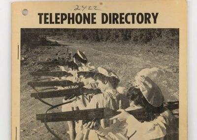 1963 Huntsville, Arkansas, telephone directory.