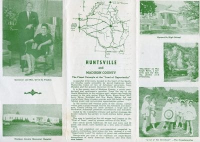 Huntsville, Arkansas, brochure, circa 1959.