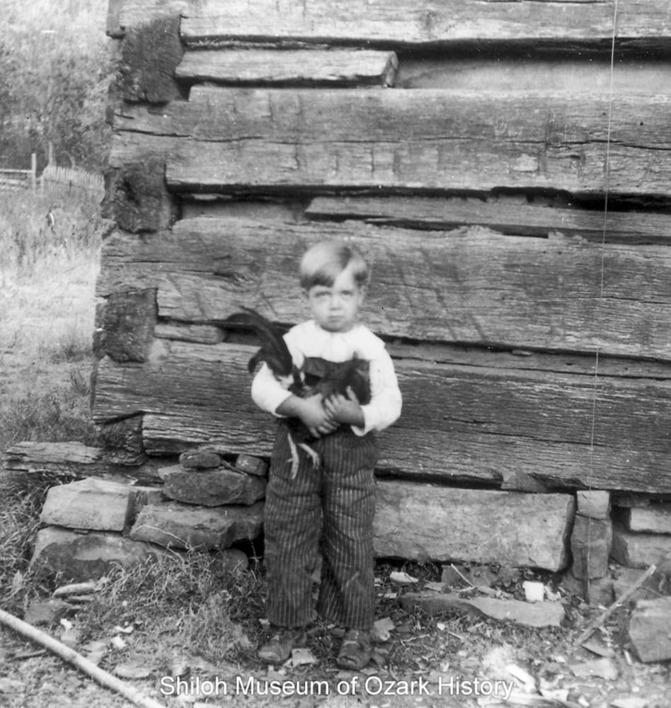 Granvil Jameson, Bowen Township (Madison County, Arkansas), about 1911.
