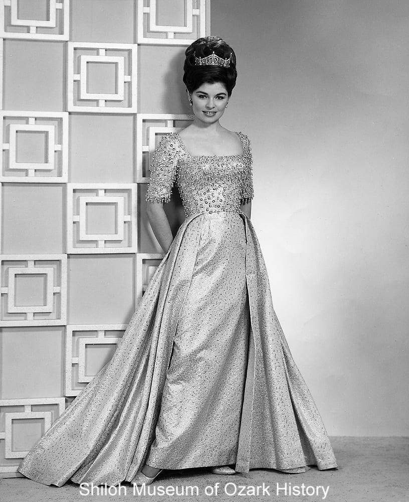 Donna Axum, Miss Arkansas 1963, Fayetteville, Arkansas, 1963.