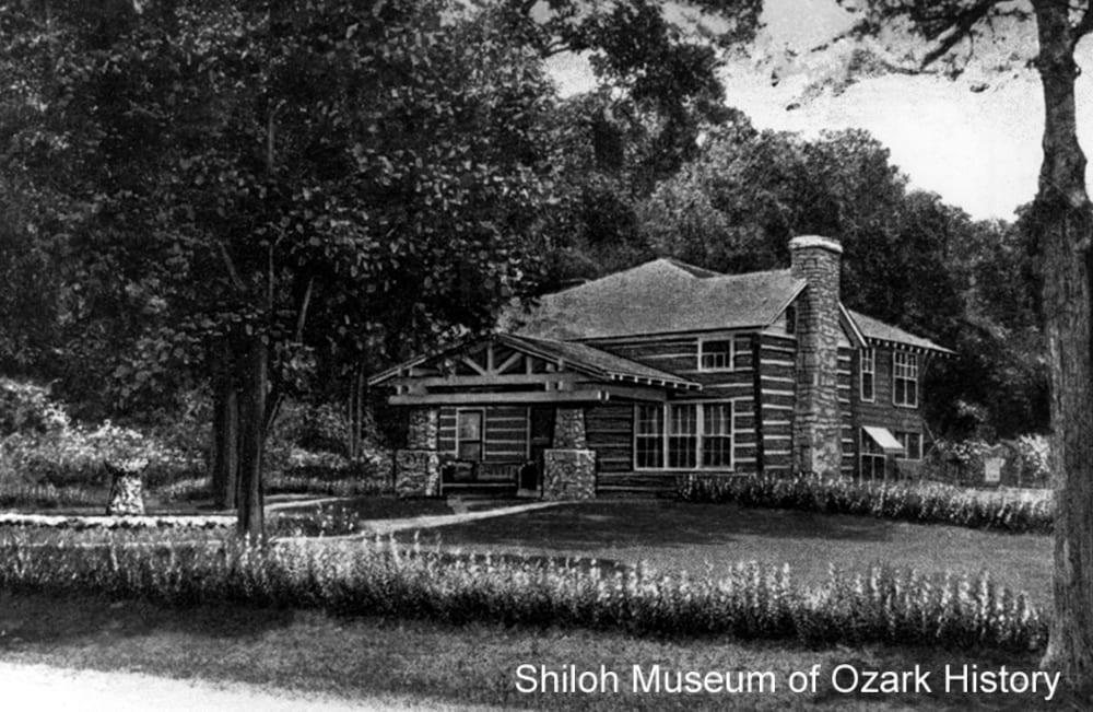 C. A. Linebarger's summer home, Bella Vista (Benton County, Arkansas), late 1920s.
