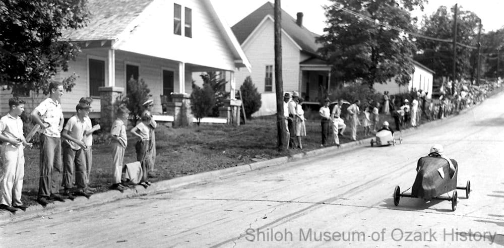 Soap box derby, Fayetteville, Arkansas, July 1940