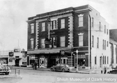 Ozark Theatre, Fayetteville, Arkansas, 1940.