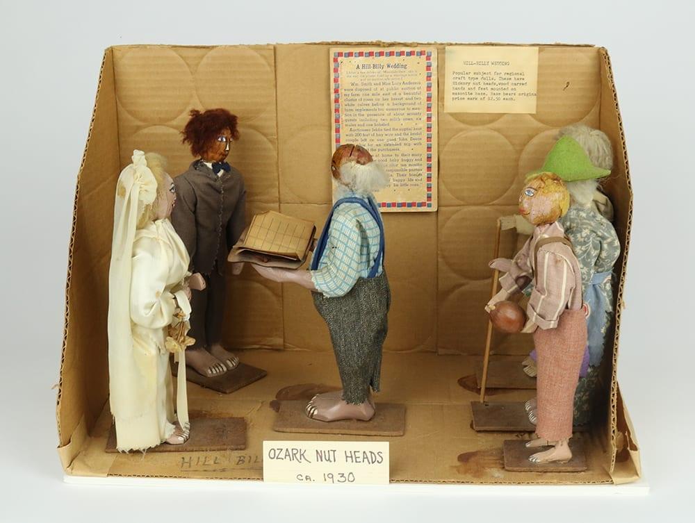 Ozark nuthead dolls