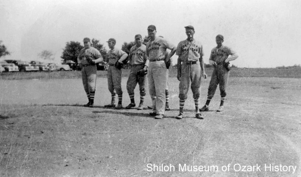 Tontitown Grapers baseball team, Tontitown, Arkansas, circa 1945.