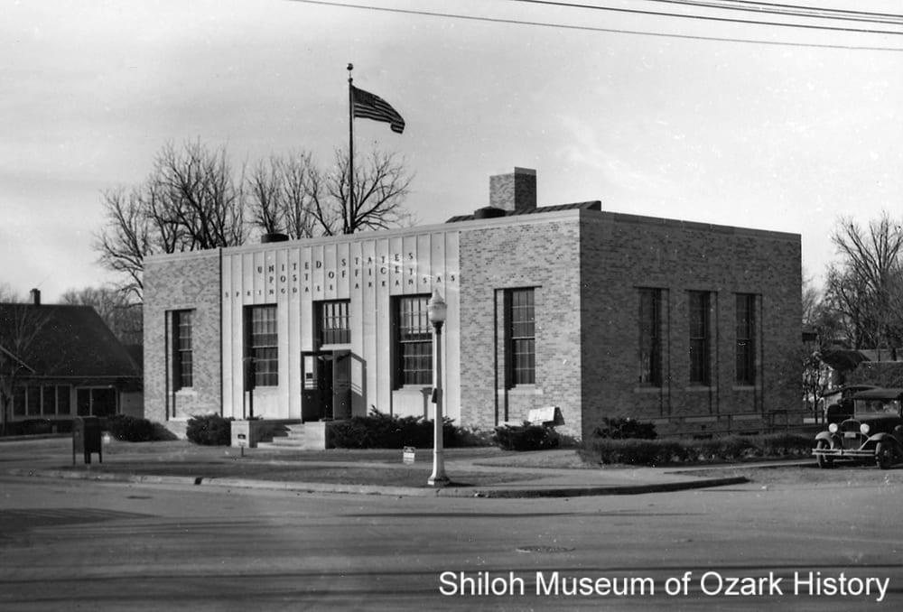U.S. Post Office, Springdale (Washington County), 1944.