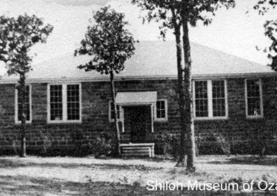 Agriculture Building, Huntsville State Vocational School, Huntsville (Madison County), Arkansas, 1939-1940.