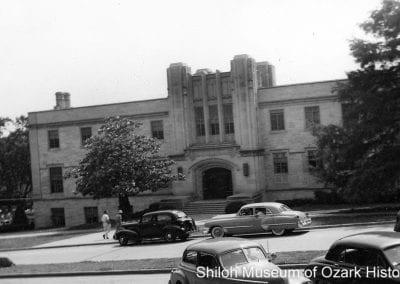 Student Union, University of Arkansas, Fayetteville (Washington County), 1949.
