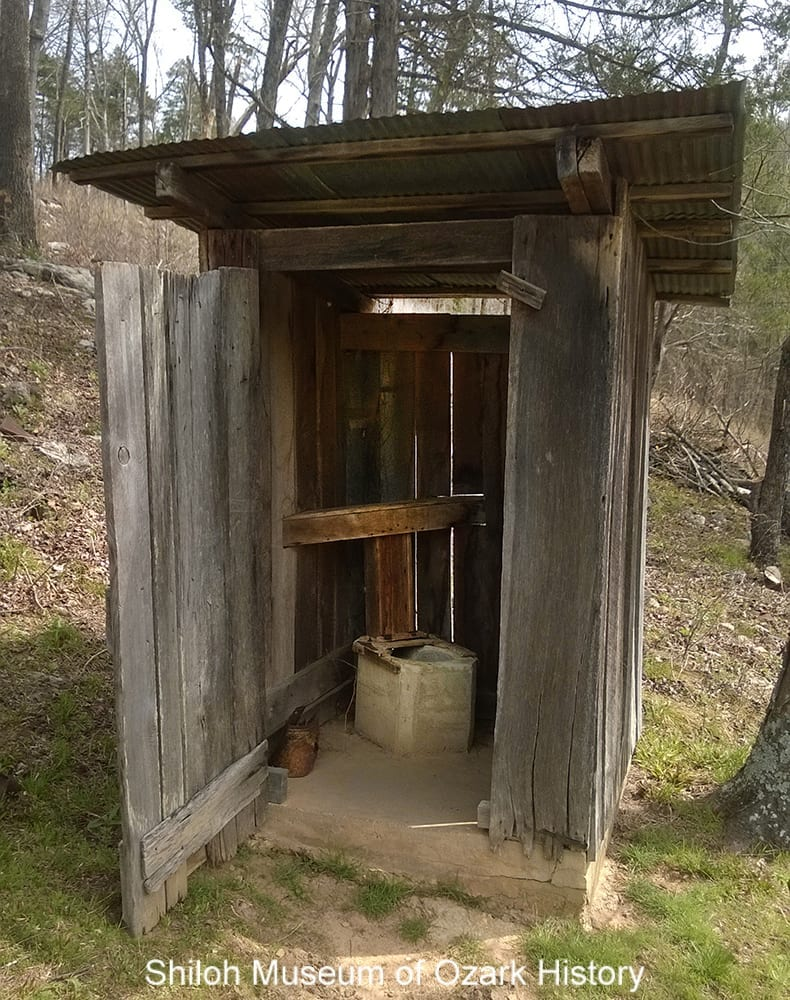 Villines outhouse, Buffalo National River