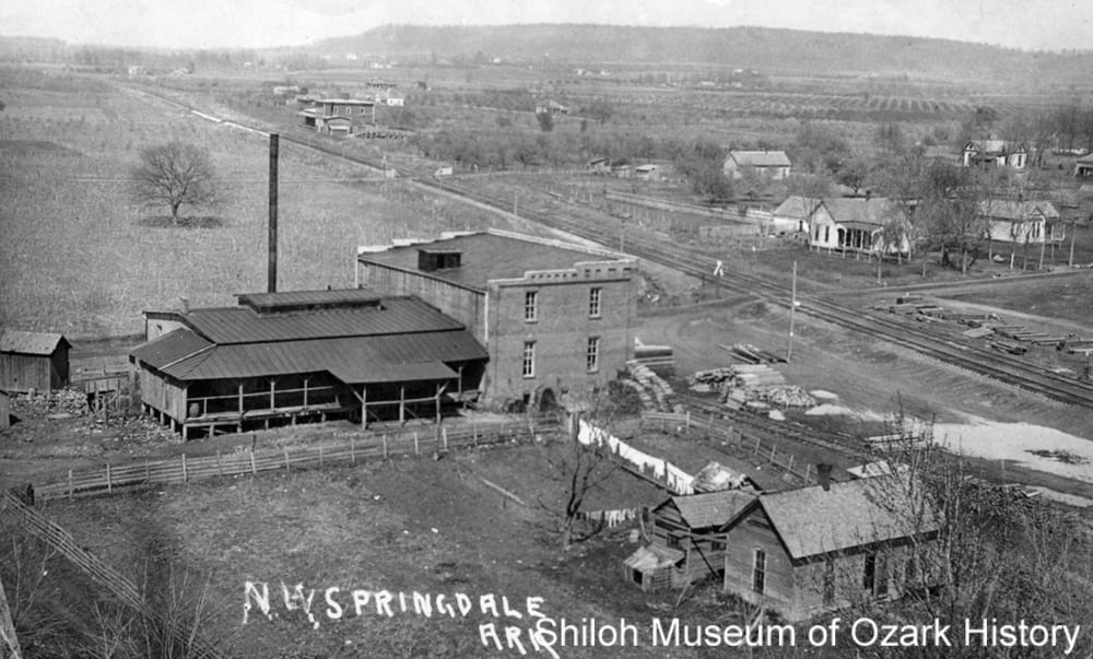 Springdale Canning Company, Springdale, Arkansas, circa 1908