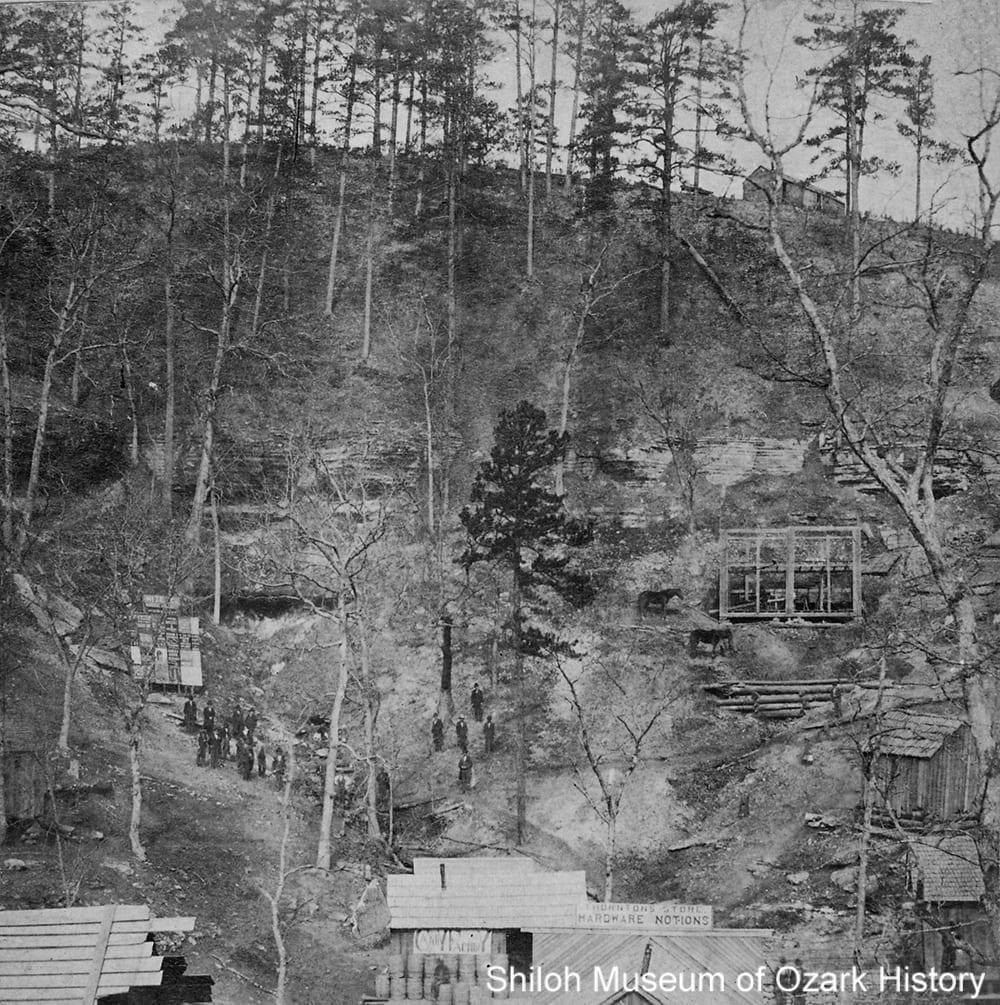 Eureka Springs, Arkansas, circa 1880