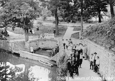 Twin Springs, Siloam Springs, Arkansas,1900s.