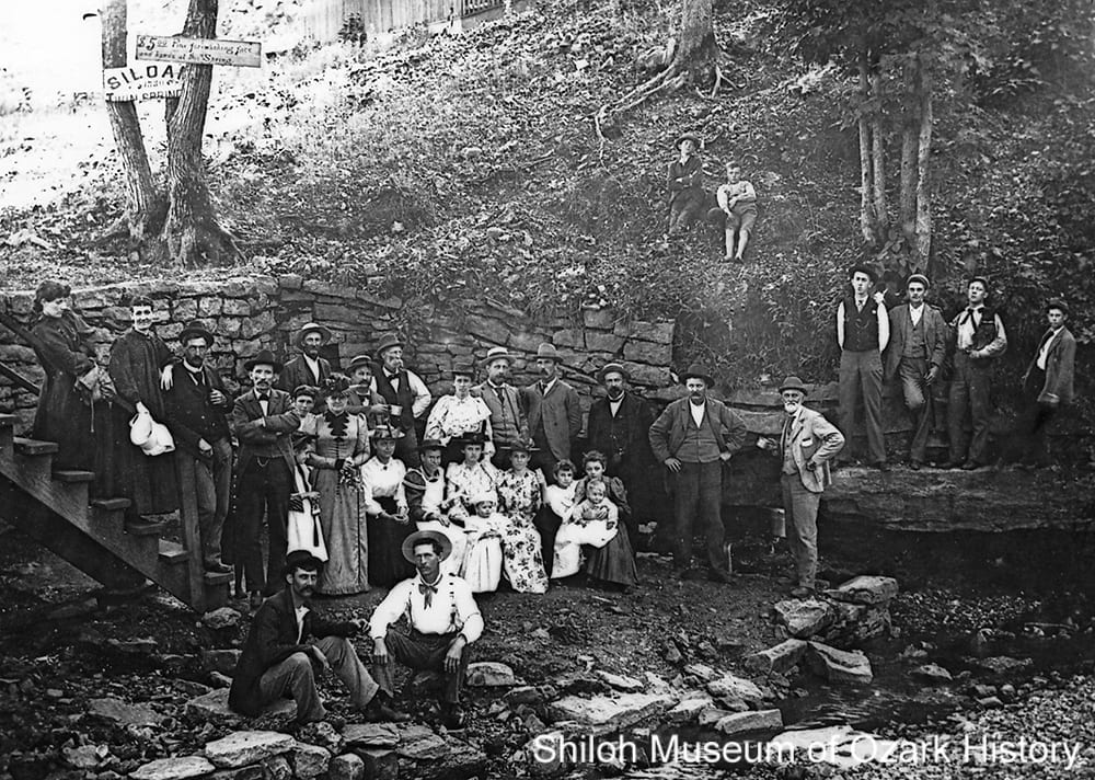 Twin Springs, Siloam Springs, Arkansas, early 1890s.