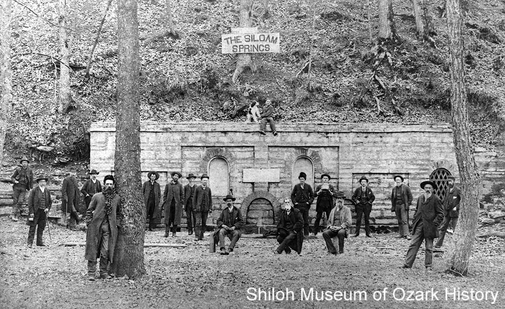 Siloam Spring, Siloam Springs, Arkansas, mid 1880s.