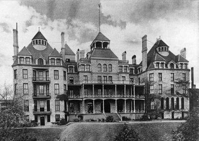 Crescent Hotel, Eureka Springs, Arkanas, late 1880s