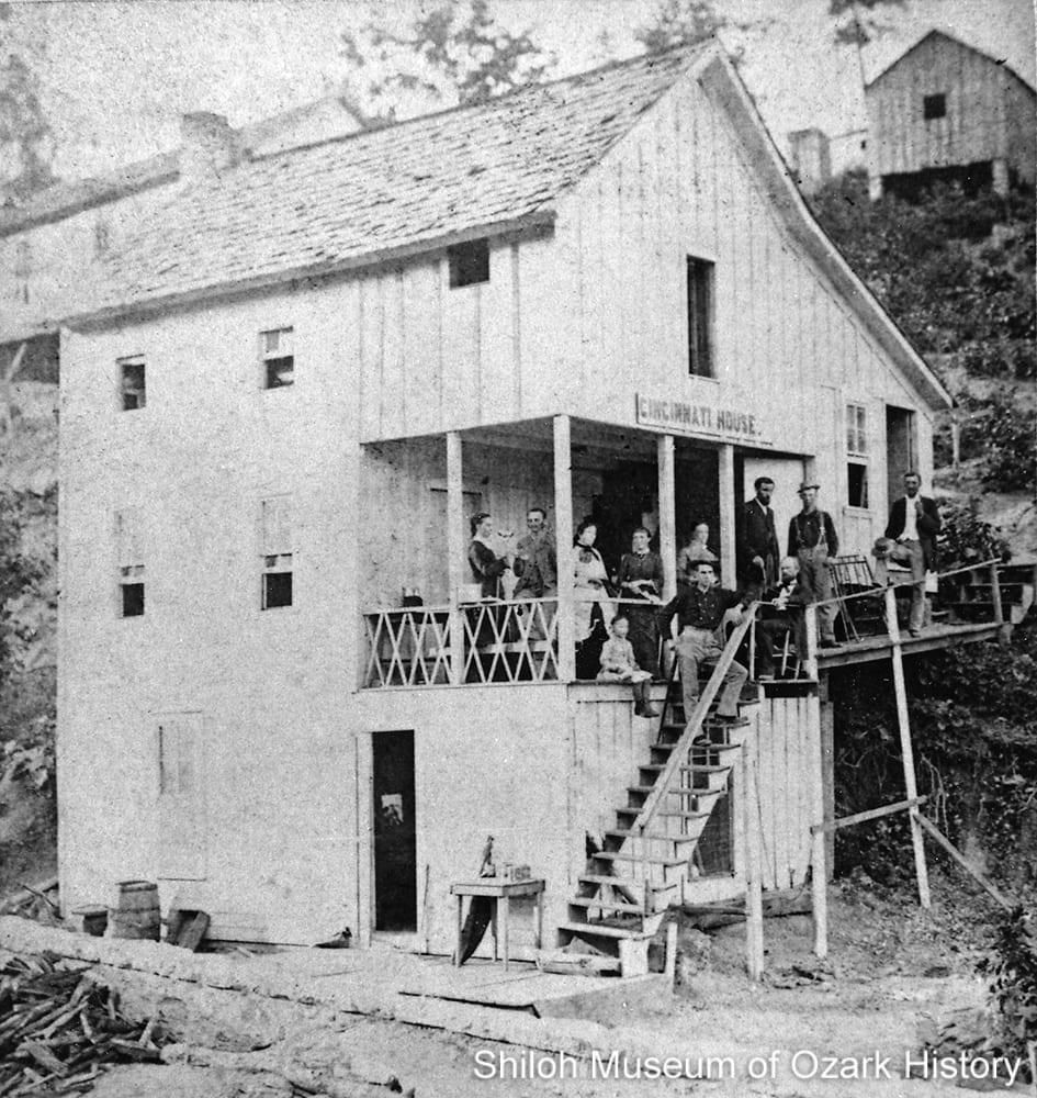 Cincinnati House, Eureka Springs, Arkansas, early 1880s.