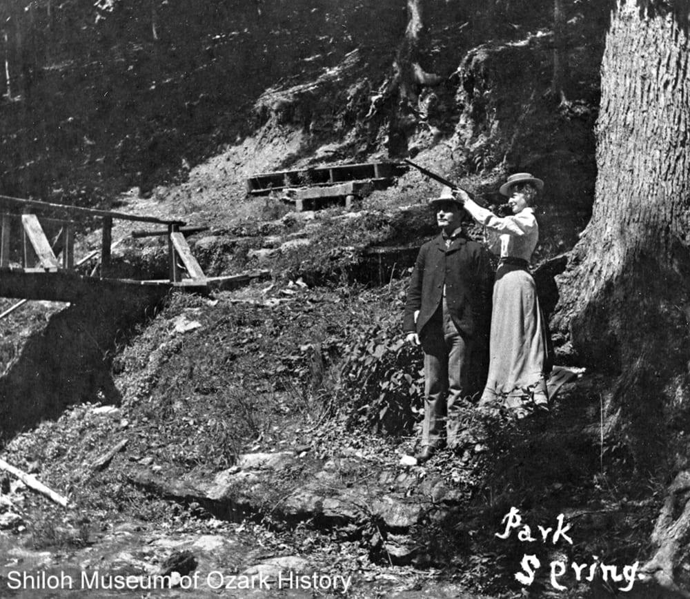 Park Springs, Bentonville, Arkansas, early 1900s.
