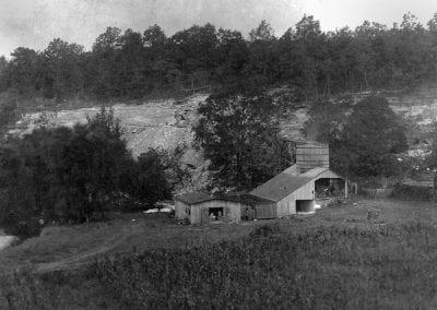 Lime plant, Johnson, Arkansas, circa 1908.