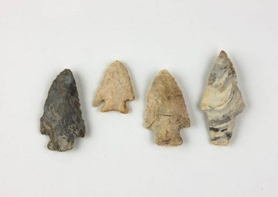 Projectile points, Shiloh Museum of Ozark History