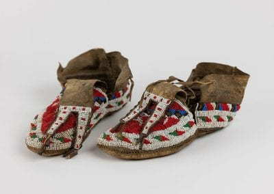 Sioux moccasins, South Dakota, circa 1880–1890