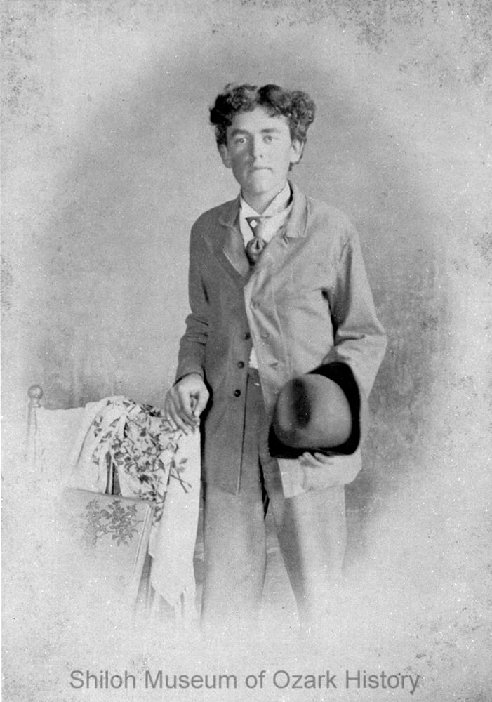 William Guy Howard, Springdale, Arkansas, circa 1895