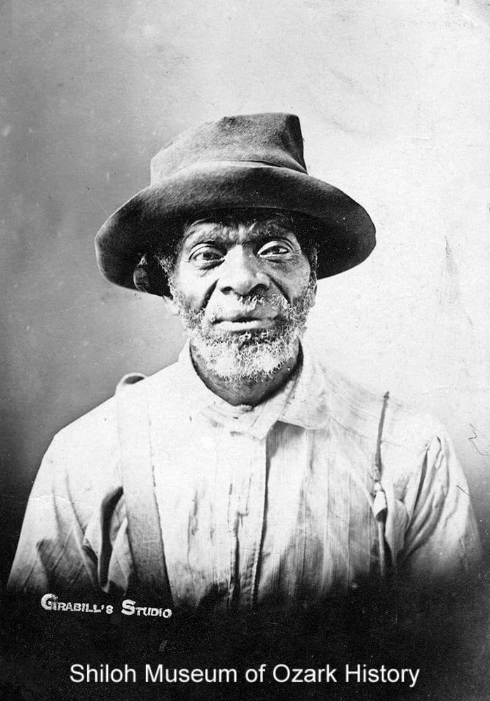 Nick Clemmons, Fayetteville, Arkansas, circa 1900