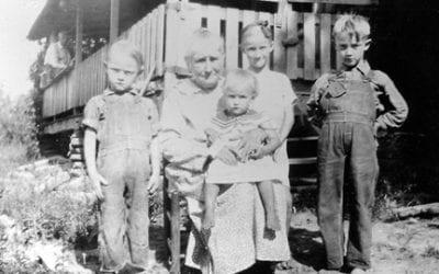 Maude Ball and Grandchildren