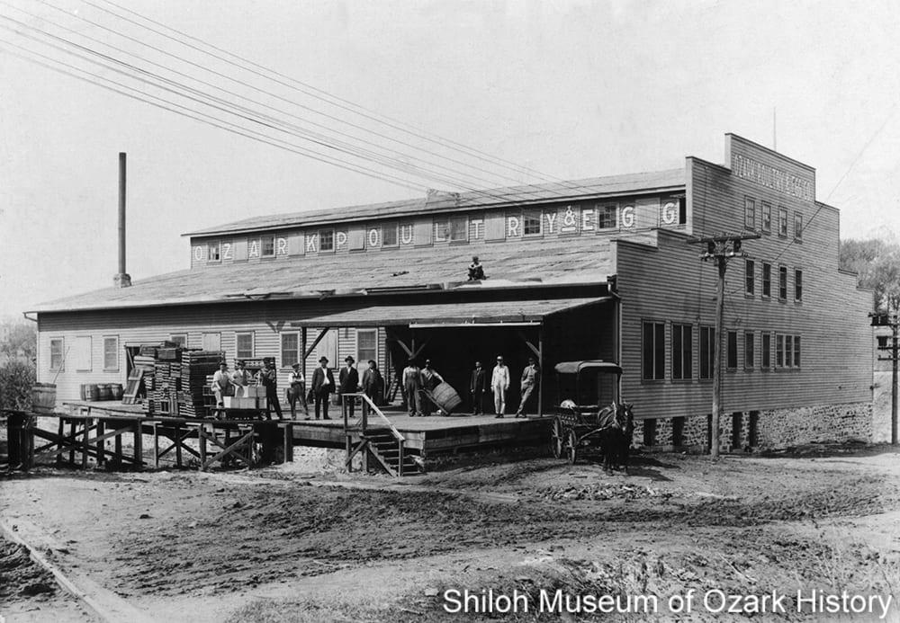 Ozark Poultry and Egg Co., Fayetteville, Arkansas, late 1910s.