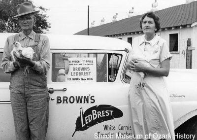 Mr. and Mrs. C. H. Phillips, Springdale, Arkansas, 1950s-1960s.